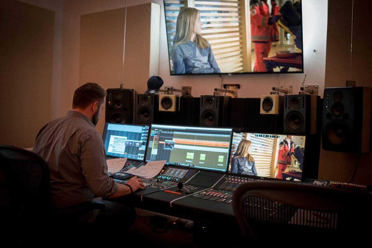 Professionelles Tonstudio Vertonung Imagefilm