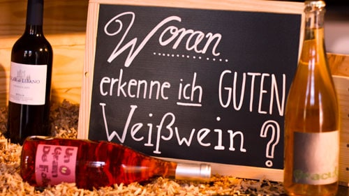 Content Marketing - Weißwein
